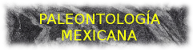Paleontología Mexicana