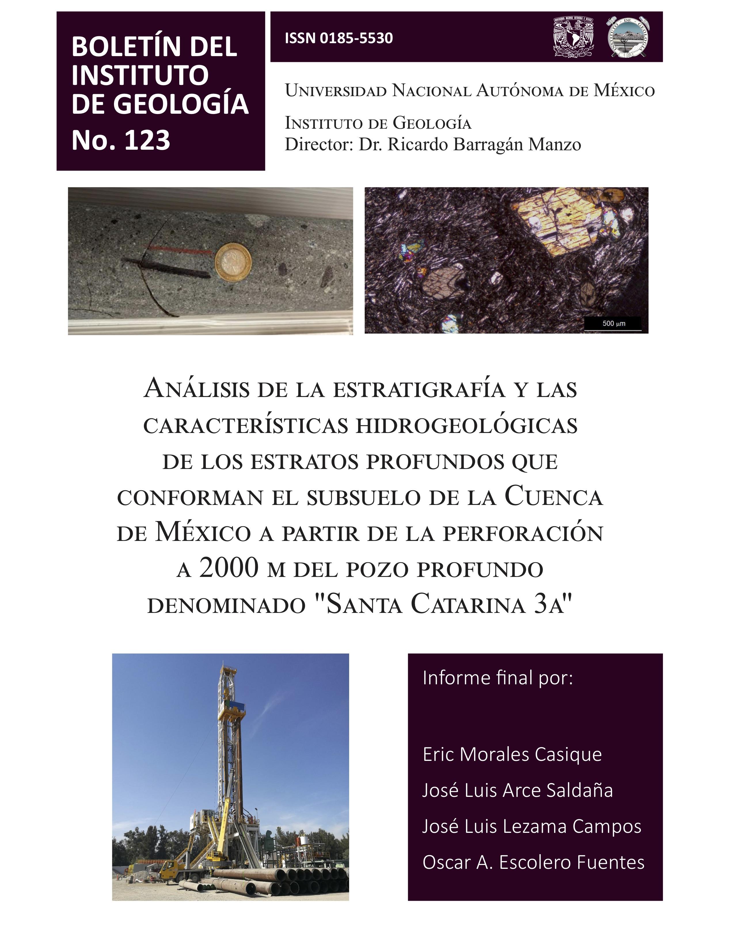 Boletín del Instituto de Geología
