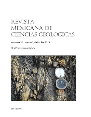 Revista mexicana de ciencias geologicas last cover