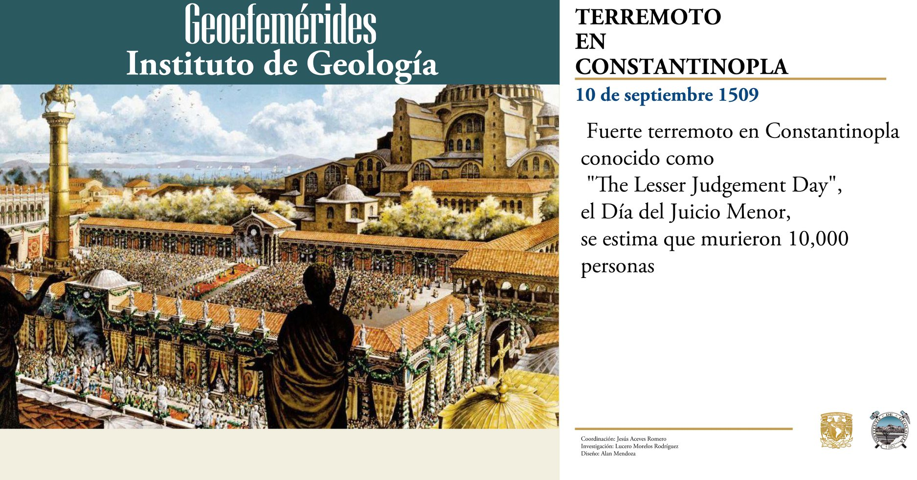 Geoefemerides 10 septiembre 2018 geologia