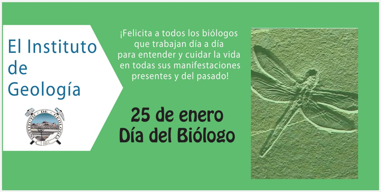 Día del biólogo geología
