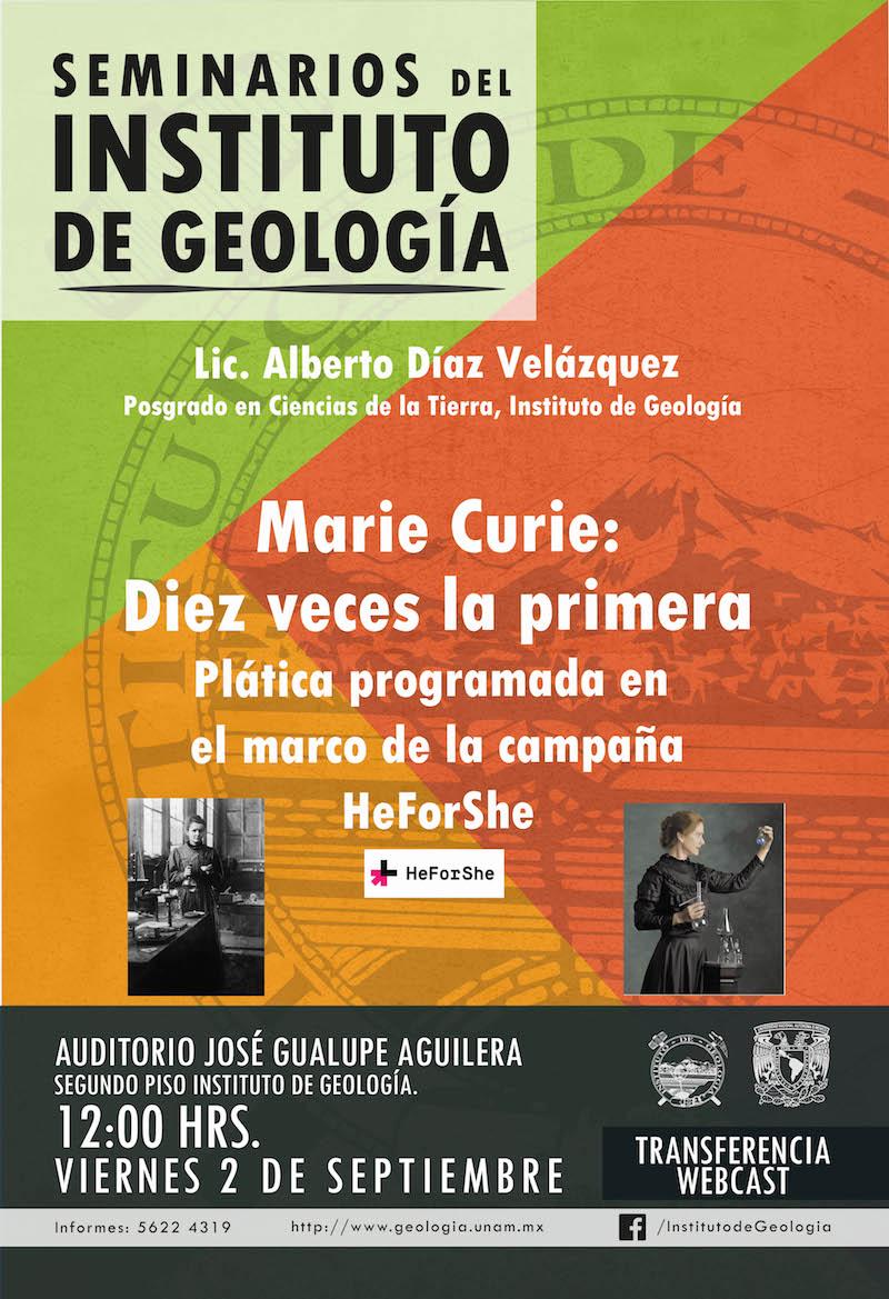 Seminario: Marie Curie: Diez veces la primera